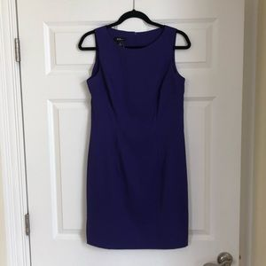 AGB Dresses Sleeveless Purple Shift Dress Sz 8